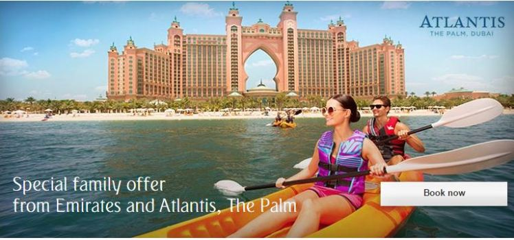 special offer from emirates and atlantis
