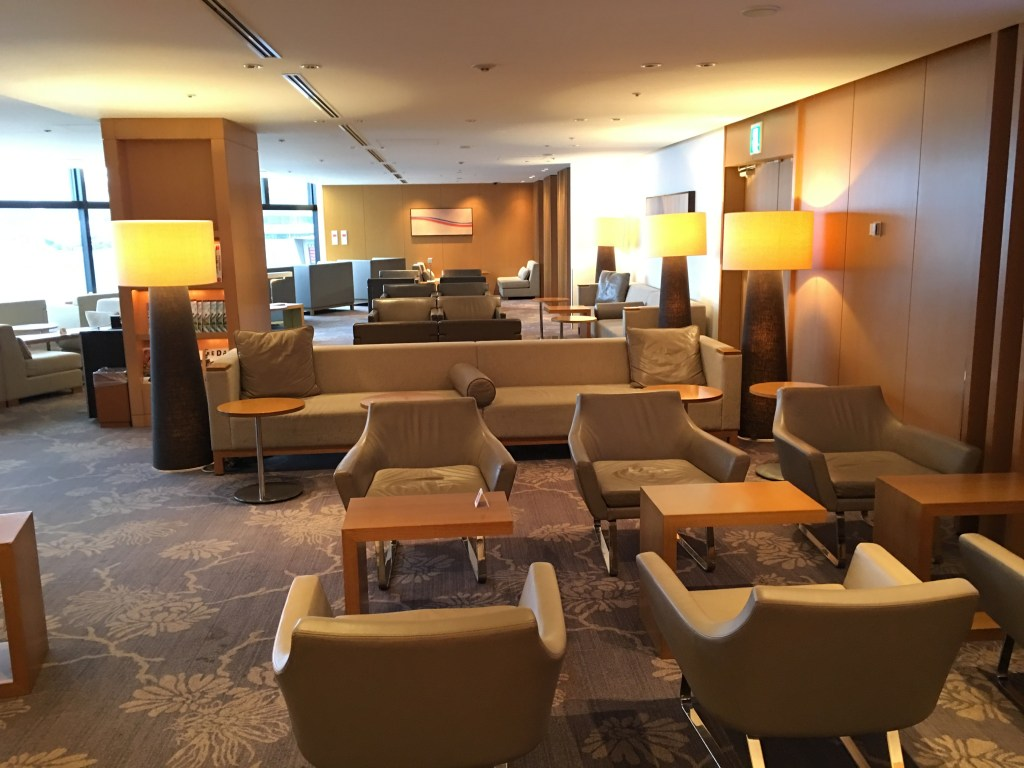 japan airlines sakura lounge