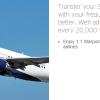 transfer spg starpoints to airlines