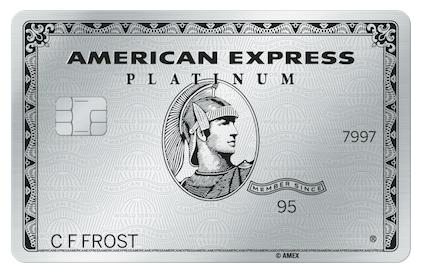 amex platinum changes