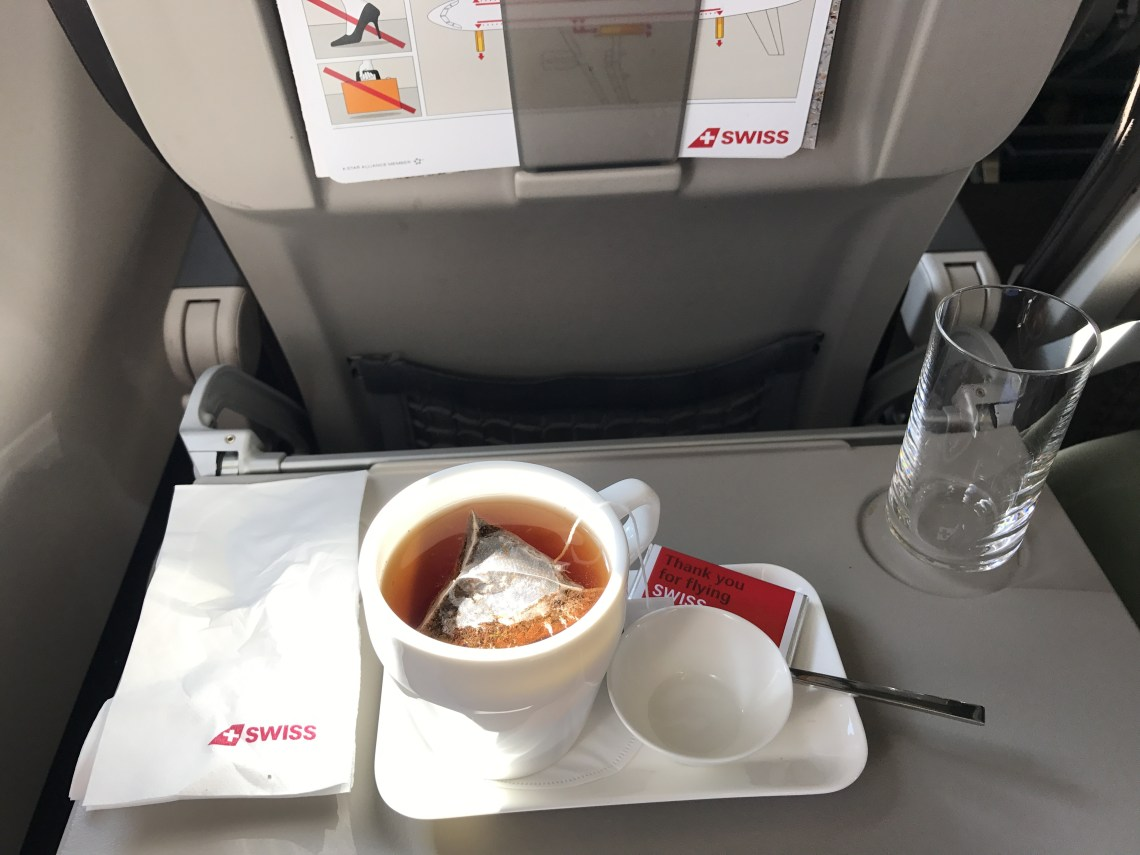 Swiss Air a320 Business Class review