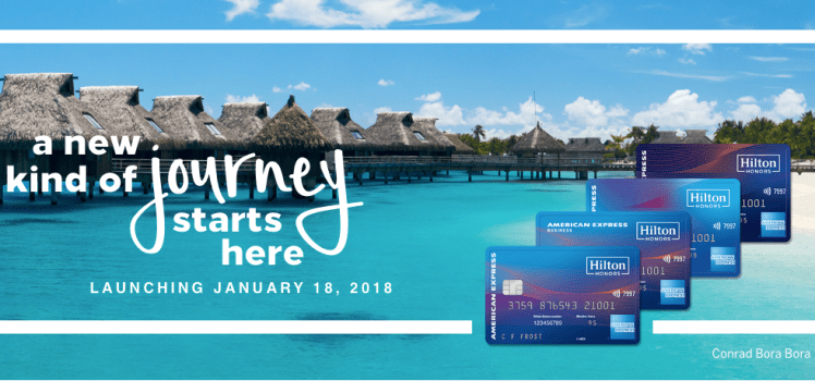 Hilton Honors American Express Cards