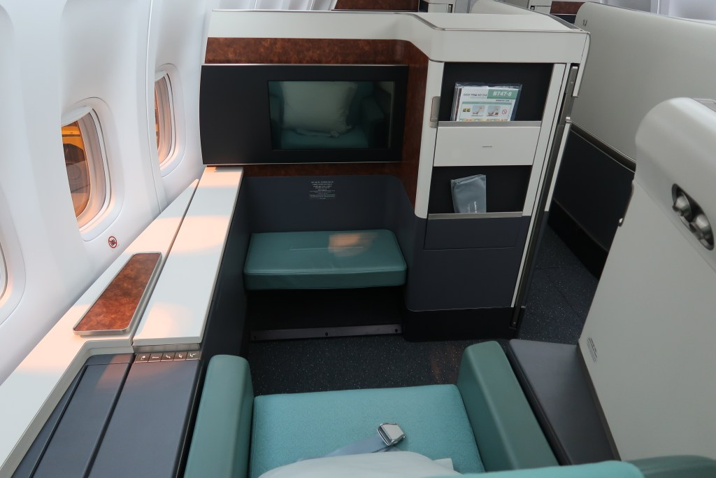Korean Air B747 First Class