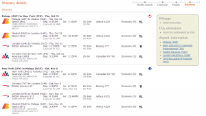 A valid AGP-MAD-LHR-YYZ-JFK r/t itinerary. Phew!