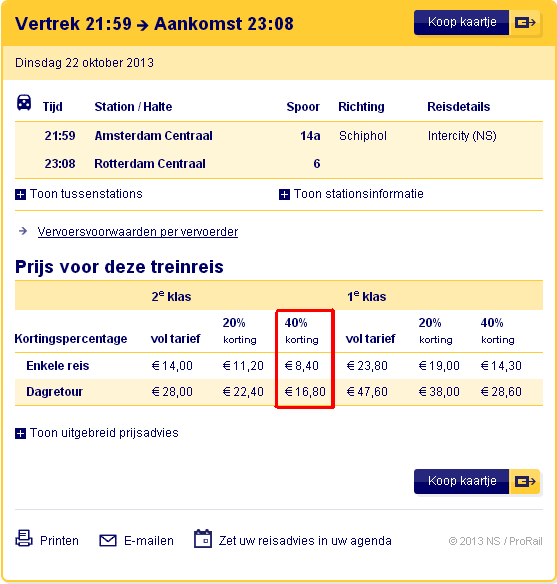 Exploiting the NS Group Ticket. €7 day return to anywhere within NL! | Points to be Made