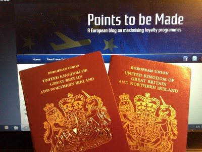Second UK passport