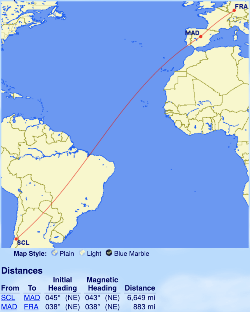 LATAM Business Class Boeing 787 Dreamliner Review - Madrid to Frankfurt | Points to be Made