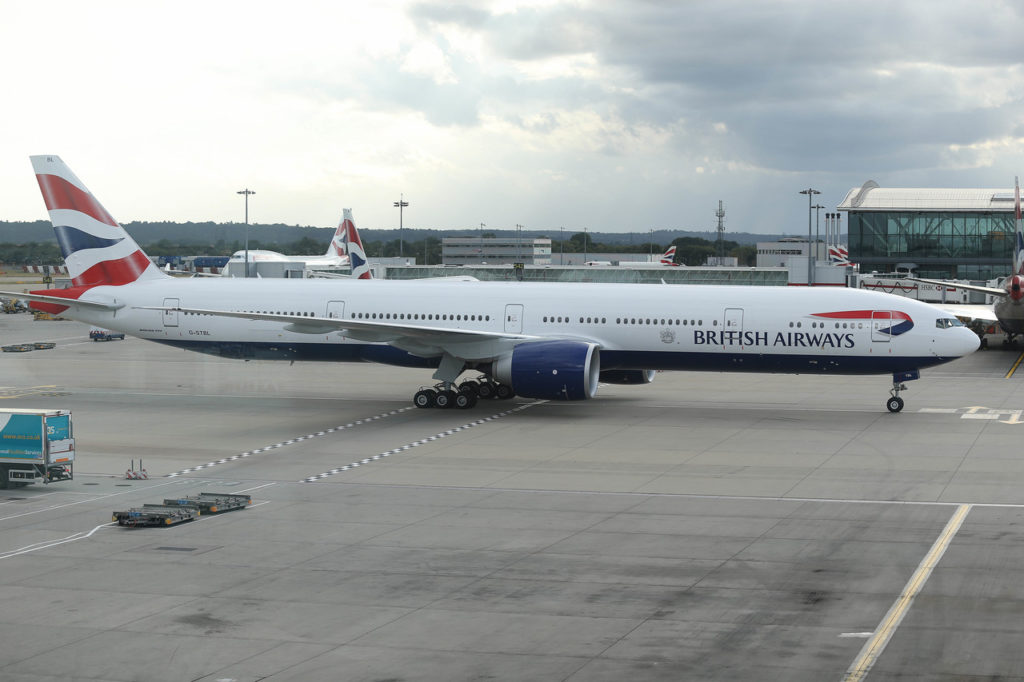 British Airways Boeing 777-300