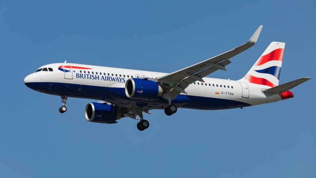 British Airways A320neo