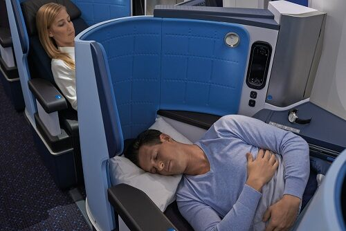 UK to South Korea in Business Class with KLM starting from £1,338/€1,583