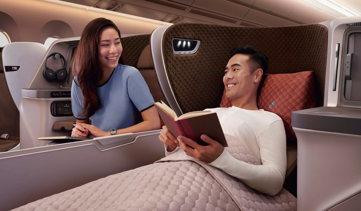 Stockholm to Australia in Business Class with Singapore Airlines starting from €2,098/£1,785