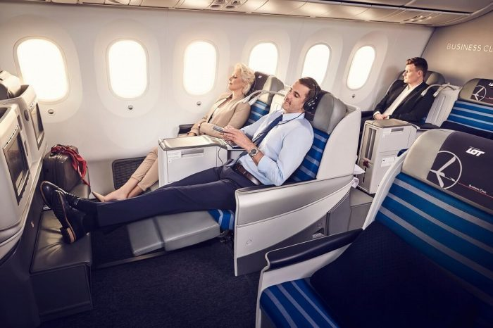 Hungary to North America in Business Class with LOT starting from €1,447/£1,216 | Points to be Made