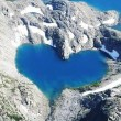 Heart-Shaped Shimshal Lake in Hunza Valley