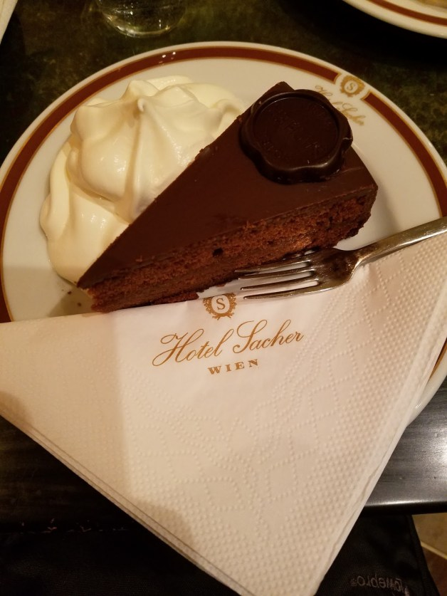 Sacher Torte at Cafe Sacher