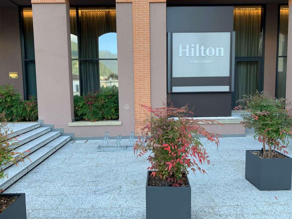Hilton Lake Como Entrance