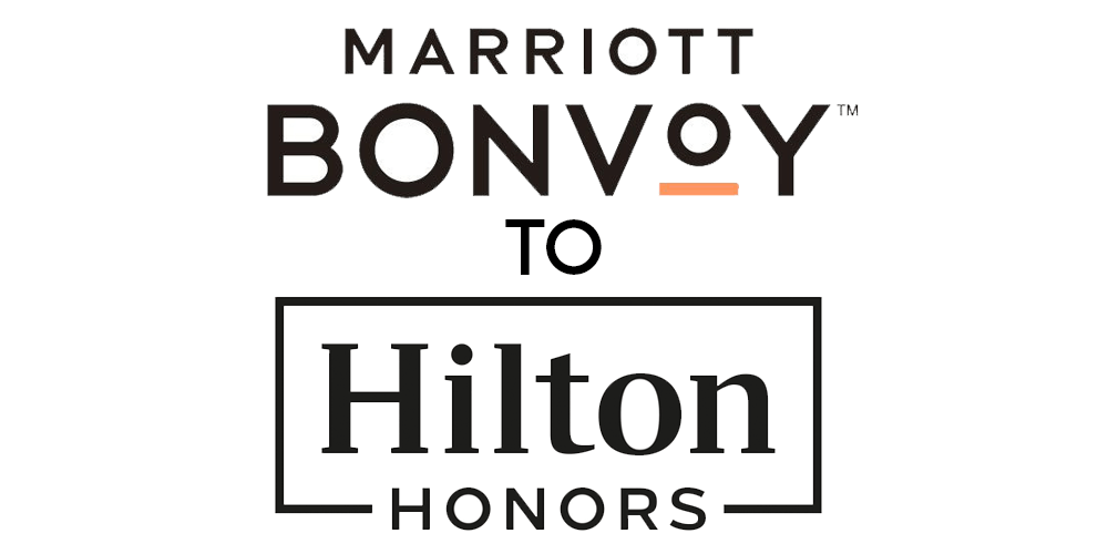 Transfer Points between Marriott and Hilton