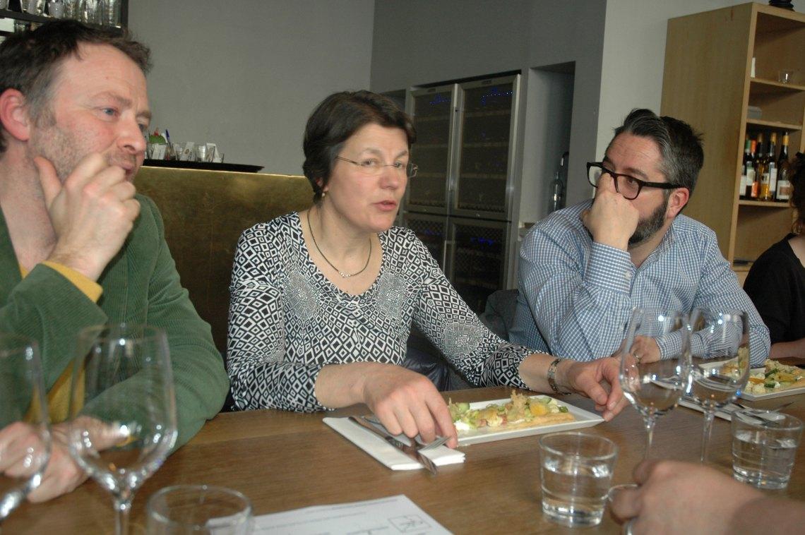 Déjeuner au restaurant Beaucoup - Louisette Fourmond