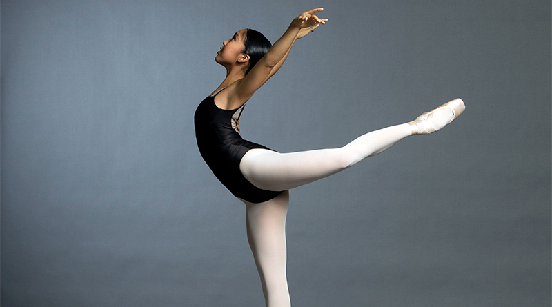 Don Mills ballerina competing at national competition