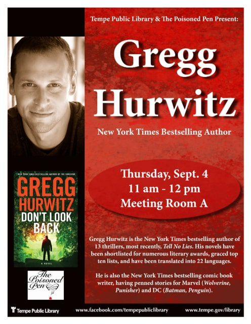 2014 Gregg Hurwitz Flyer