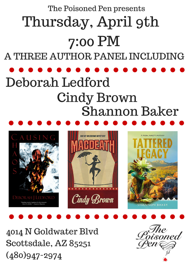 A Three author panel including (1)