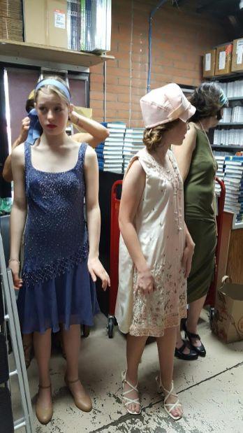 Fashion show prep 2
