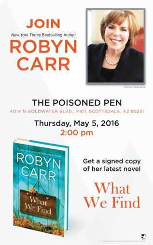 PP Robyn Carr poster