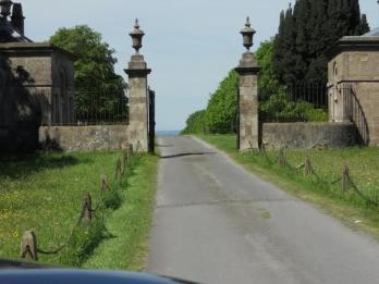 Hannah - Entrance to estate