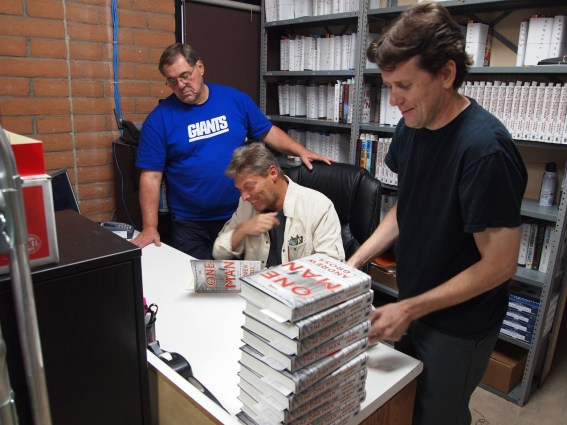 Andrew Gross signing