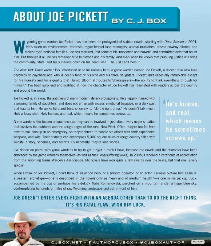 About Joe Pickett