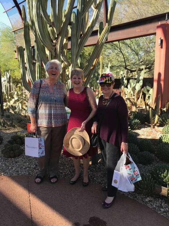 Laurie King, Ellen Crosby & Barbara Peters
