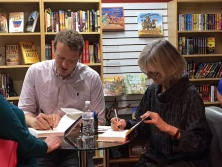 Finch and Winspear signing