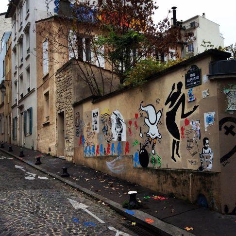 Cara street art