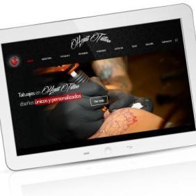 imagen Página Web Heart Tattoo Poison Estudio