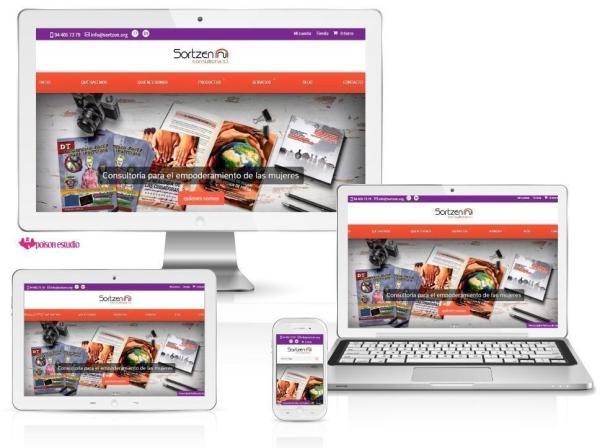 Página web para Sortzen