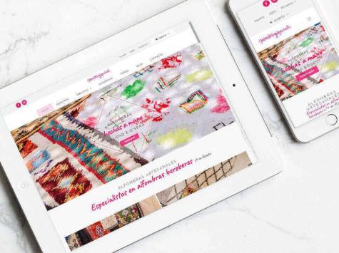 Diseño y maquetación de página web para Something Special