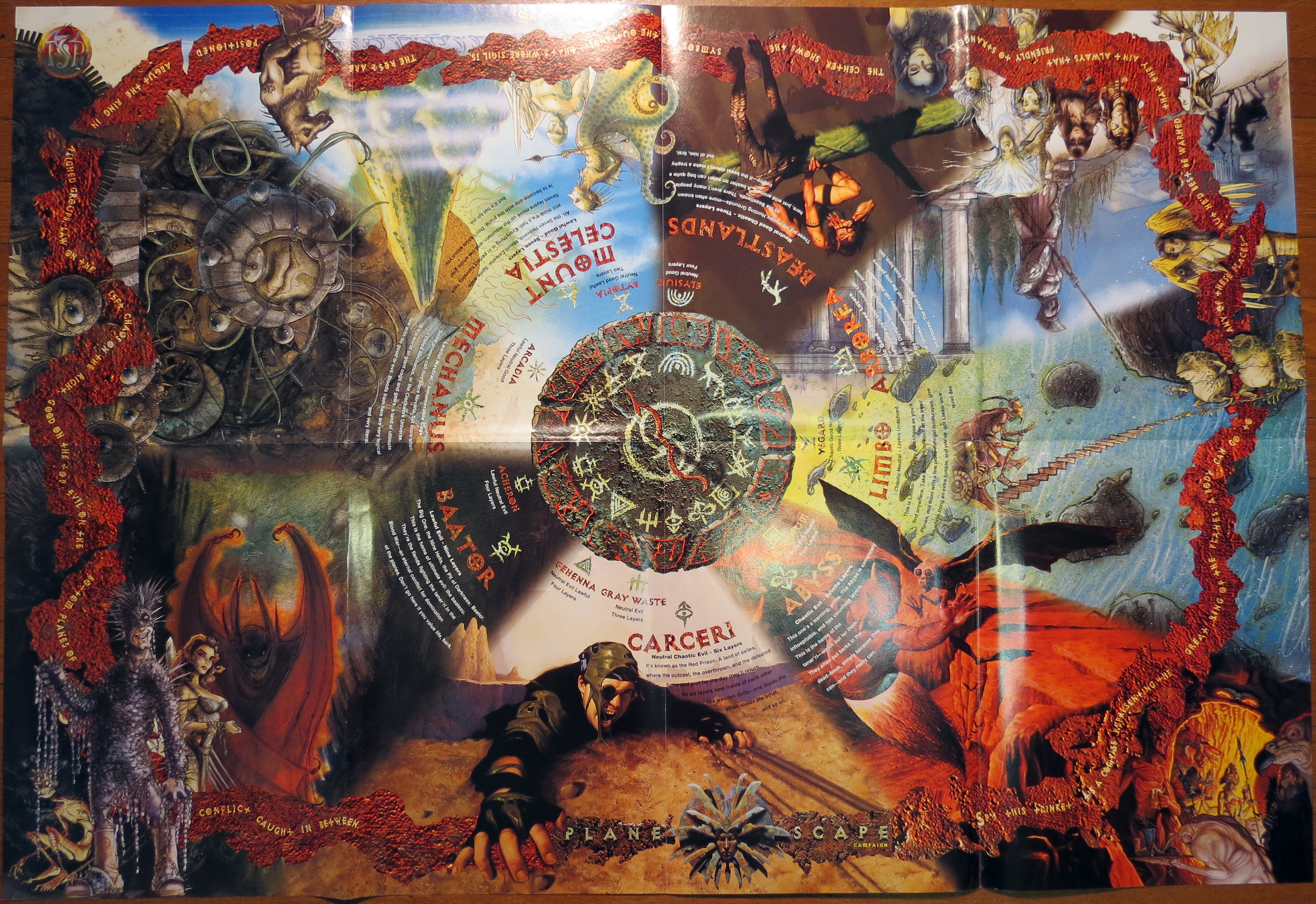 Planescape Posters