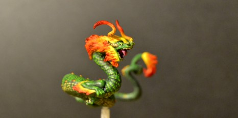 Malifaux Dawn Serpent