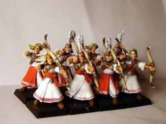 Warhammer High Elf Archers