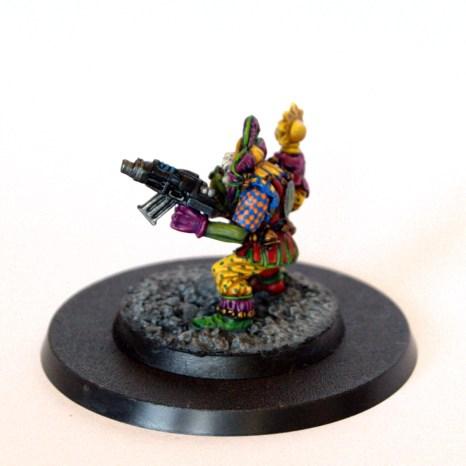 Warhammer 40k Ork Weirdboy Rogue Trader Evil Sunz
