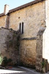 Side wall of Abbey