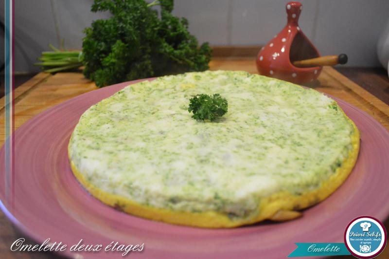 Omelette deux étages_présentation