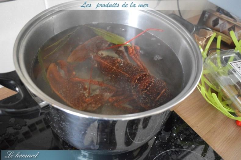 Le homard_préparation