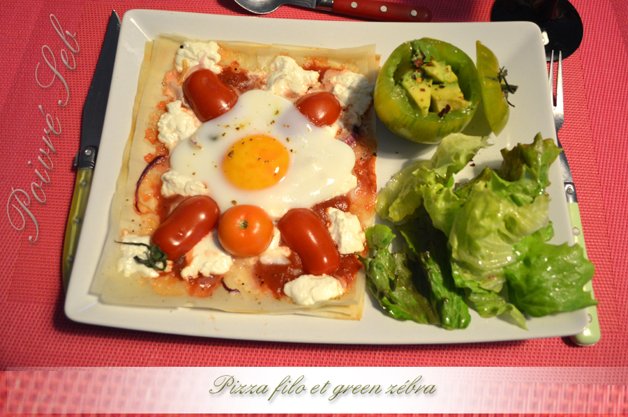 Pizza filo et Green Zebra_2