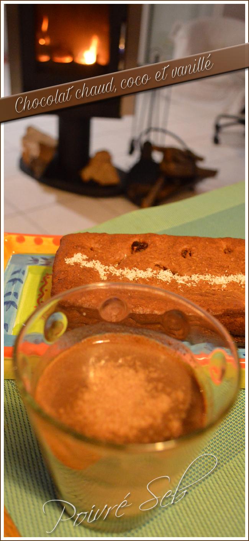 Chocolat chaud coco vanillé vertical