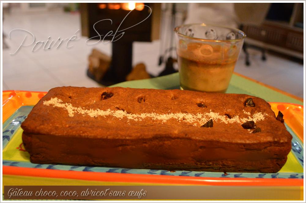 Gâteau chocolat sans œuf