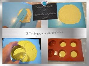 Poireaux vinaigrette et flamiche aux poireaux revisités préparation3