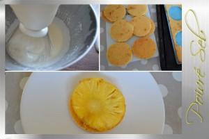 Tartelette exotique et lait de coco ananas en verrine_préparation 3