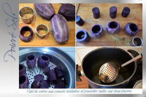 Filet de sabre aux saveurs acidulées et prunelles cuites aux deux façons-Préparation