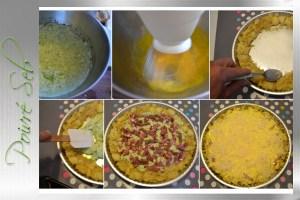 Tatin de pomme de terre Laurette préparation