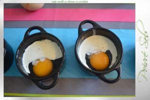 œufs cocotte au Boursin en persillade-préparation